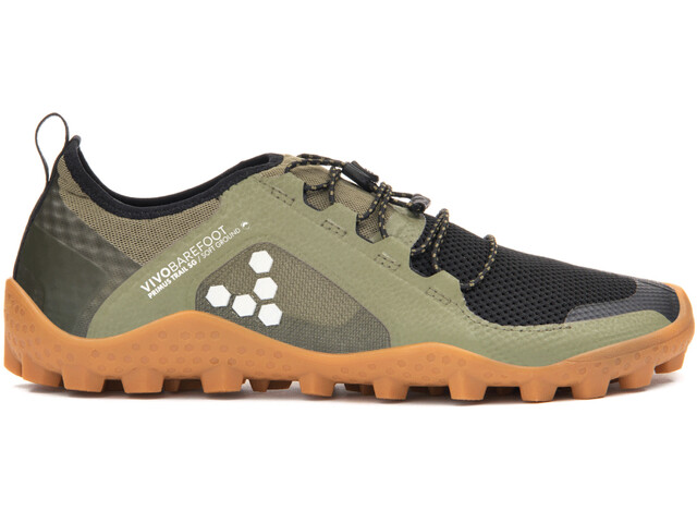 cheap for discount eac82 7427a Vivobarefoot Primus Trail SG Mesh Shoes Men olive